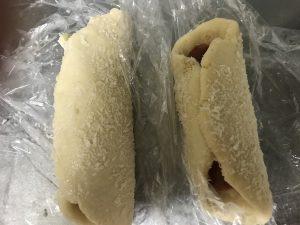 ソーセージパン before