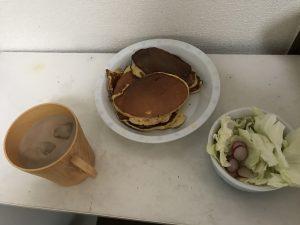 朝食にラディッシュw